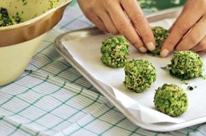 polpette di broccoli